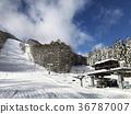 日本東北 福島 滑雪場 纜車 36787007