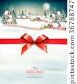 holiday, christmas, village 36788747