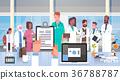 Hospital Medical Team Group Of Doctors In Modern 36788787