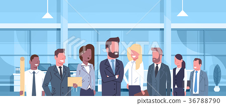 Group Of Business People In Modern Office Concept 36788790