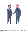 Hand Shake Concept Two Business Men Shaking Hands 36788803