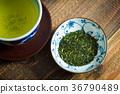 잎, 음료, 일본 차 36790489