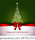 Abstract Christmas Background. 36791154
