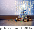 Abstract Christmas Background. 36791162