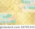 樱花 樱桃树 背景材料 36795343