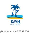 logo, travel, vector 36795566