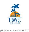 logo, travel, vector 36795567
