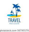 logo, travel, vector 36795570