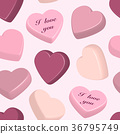 hearts, vector, pattern 36795749
