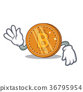 bitcoin, circle, round 36795954