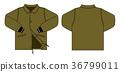 尼龍夾克·員工跳線圖(卡其色) 36799011
