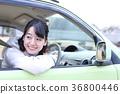 หญิงสาวขับรถ 36800446