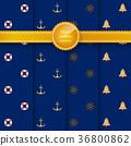 anchor, rudder, pattern 36800862