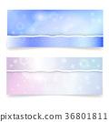 paper, vector, banner 36801811