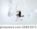 Aerial artistic acrobatics. 36803972