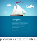yacht, sea, design 36806633