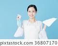 여성, 여자, 청소 36807170