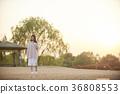 年輕的女人,大學生,生活 36808553