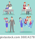 business people with bullying problem 36814278