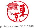 tokyo, calligraphy writing, sensoji temple 36815309