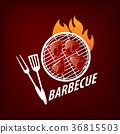 logo, barbecue, vector 36815503