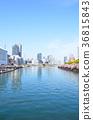 river, cityscape, scape 36815843