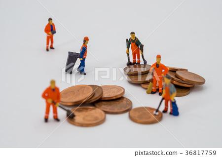 Money laundering concept 36817759