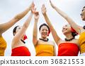 ภาพนักเต้นฮูลา 36821553