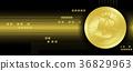 比特幣 貨幣 金色 36829963