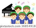 鋼琴 孩子 小孩 36854918