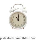 Beautiful Alarm Clock isolate on white background 36858742
