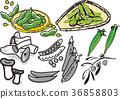 에다마메, 자숙콩, 새송이버섯 36858803