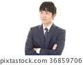 微笑的商人 36859706