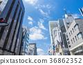【도쿄 하라주쿠] 도시 풍경 36862352