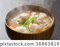 된장국, 일식, 일본 요리 36863819