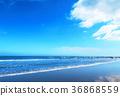 푸른, 하늘, 해변 36868559