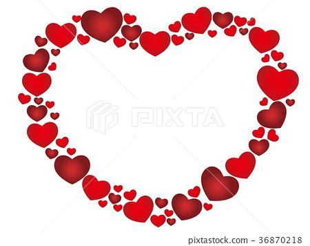 Heart frame 36870218