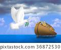 鴿子 動物 海 36872530