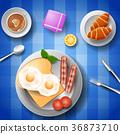 egg, breakfast, bacon 36873710
