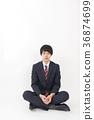 meditation, person, youthful 36874699