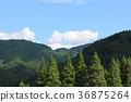 blue, sky, landscape 36875264