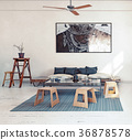 design  living room interior. 36878578