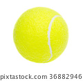 Tennis ball isolated 36882946