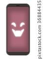 스마트 폰, 전화, 바이러스 36884435