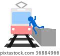 รถไฟ,คน,ผู้คน 36884966