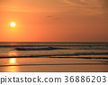 Sea of sunset 36886203