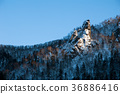 rocky, mountain, snow 36886416