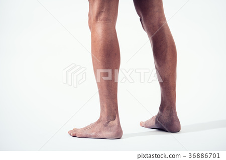 Muscular Male Leg Foot Body Parts 36886701