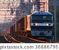 새벽, 화물열차, 전기기관차 36886795