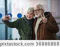 couple, selfie, travel 36886868